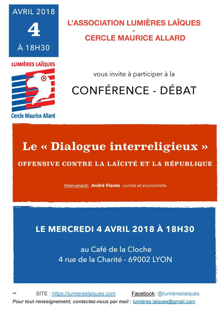 Affiche La Cloche Dialogue interreligieux